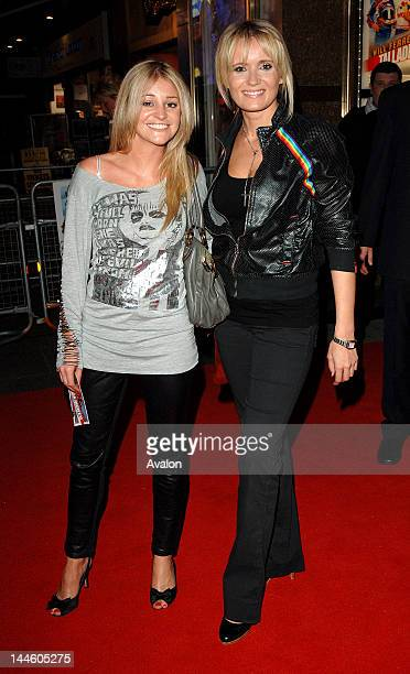 Nicola Stapleton and Dannielle Brent attending Talladega Nights The Ballad Of Ricky Bobby Premiere Empire Leicester square London 20th August 2006...