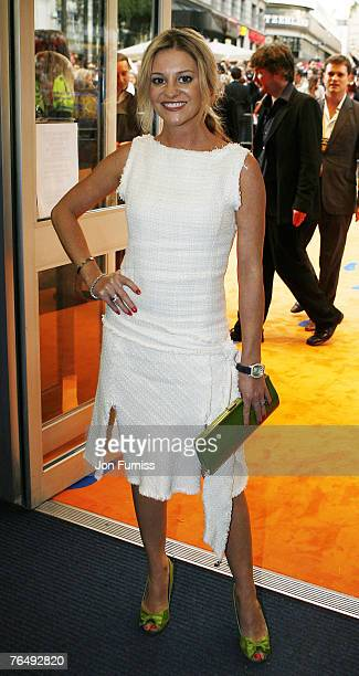 Nicola Stapleton at the world premiere of Run Fat Boy Run September 3 2007 at the Odeon West End in London England