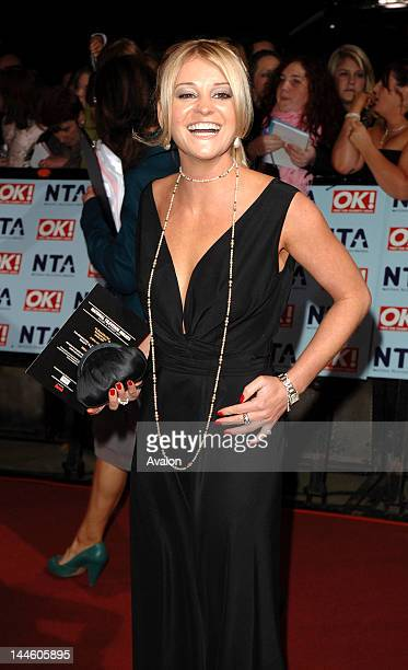 Nicola Stapleton attending The National Television Awards 2006 Royal Albert Hall London 31st October 2006 Job 17505 Ref