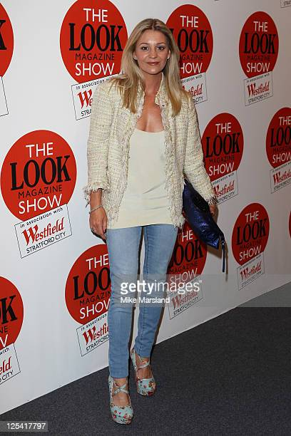 Nicola Stapleton attends LOOK fashion show during London Fashion Week S/S 2012 at Westfield Stratford City on September 17 2011 in London England