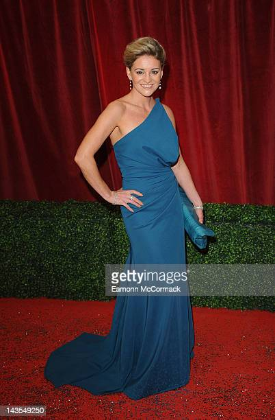 Nicola Stapleton attends The British Soap Awards 2012 at The London Television Centre on April 28 2012 in London England