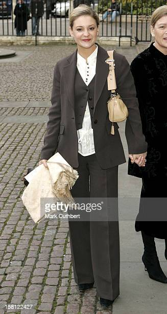 Nicola Stapleton Attends The Children Of Courage Awards 2005 At London'S Westminster Abbey