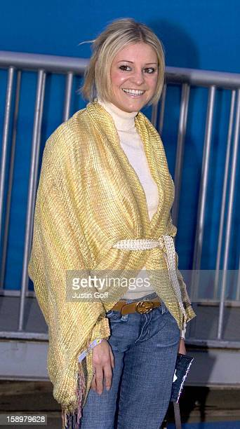 Nicola Stapleton Attends The Icespace Launch Party In London