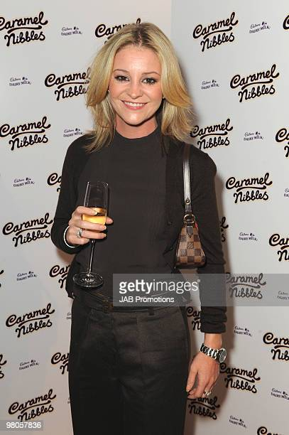 Nicola Stapleton attends the launch party for Cadbury Dairy Milk Caramel Nibbles on October 20 2009 in London England