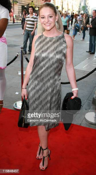 Nicola Stapleton during Amora Academy Of Sex And Relationships Official Launch Party at Trocadero Centre in London Great Britain