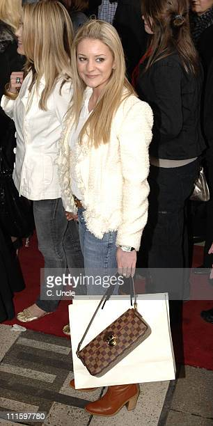 Nicola Stapleton during Movin' Out West End Opening Night at Apollo Victoria in London Great Britain