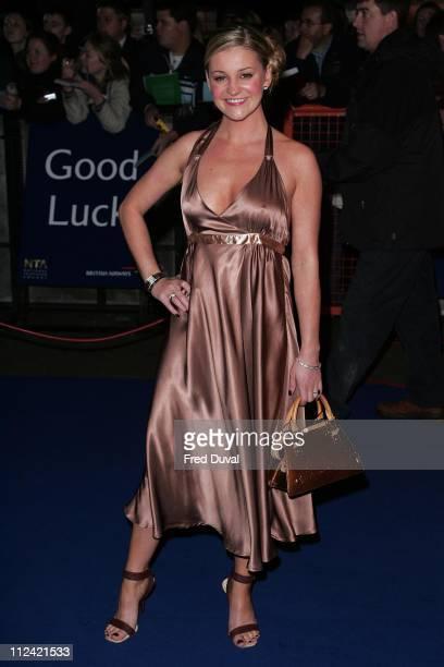 Nicola Stapleton during National Television Awards 2005 at Royal Albert Hall London in London United Kingdom