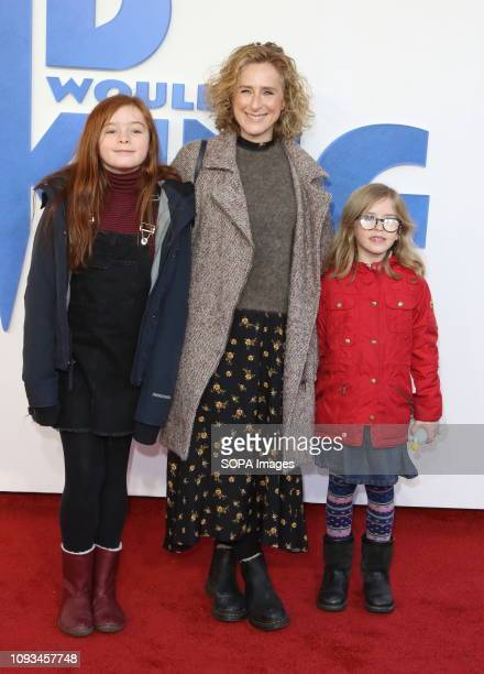 Nicola Stephenson seen at The Kid Who Would Be King Gala screening at the Odeon Luxe Leicester Square