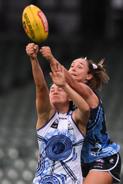 AUS: AFLW Rd 5 - North Melbourne v Carlton
