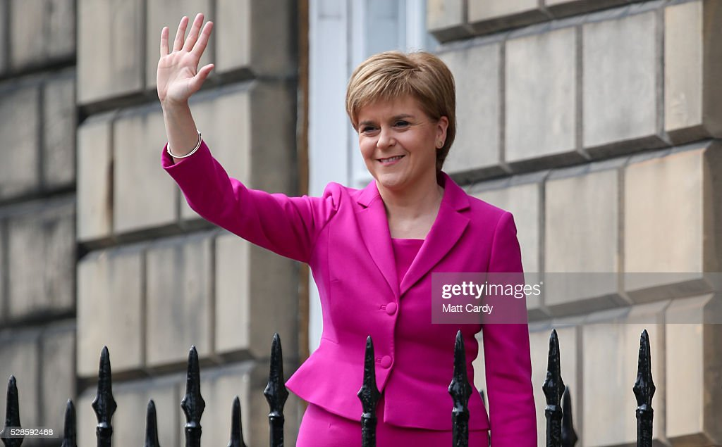 Nicola Sturgeon Enters Third Historic Term At Holyrood