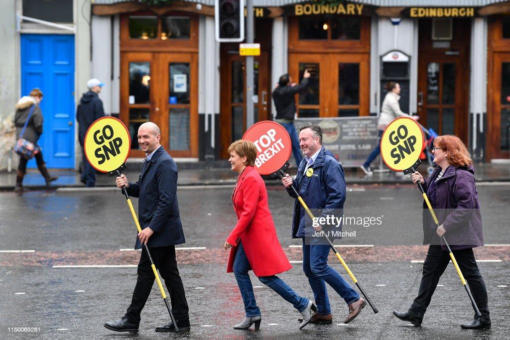 """GBR: Nicola Sturgeon Says """"Stop Brexit, Go SNP"""""""