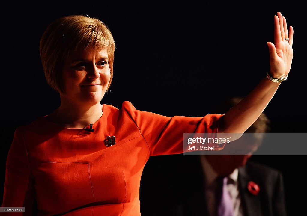 Nicola Sturgeon Starts Her Tour Of Scotland