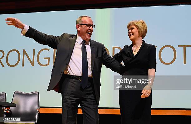 Nicola Sturgeon is formally announced as the new leader of the SNP and Stewart Hosie MP replaces her as deputy leader at the party's annual...