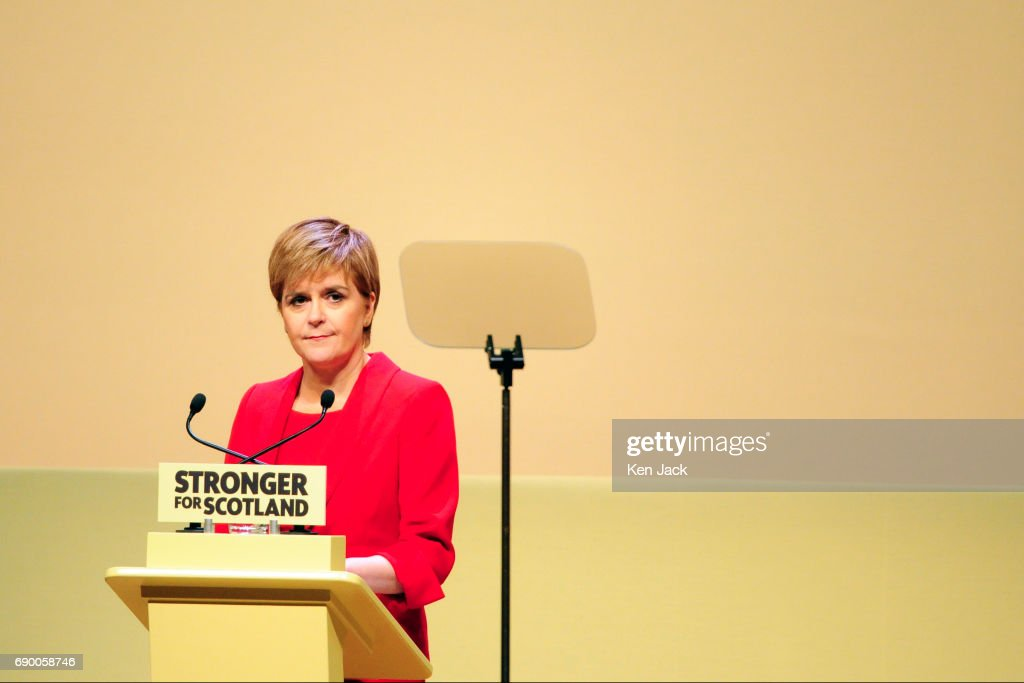 Nicola Sturgeon Launches SNP General Election Manifesto : Nieuwsfoto's