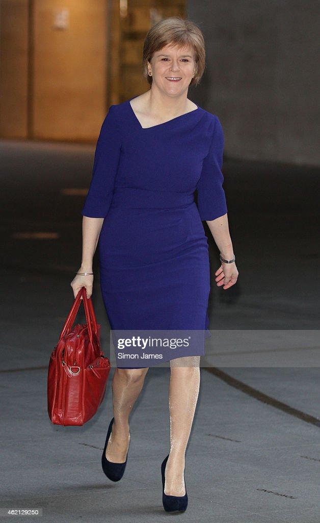 London Celebrity Sightings -  January 25, 2015