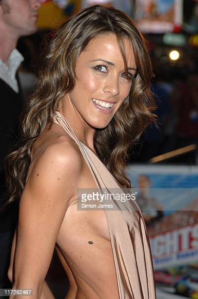 Nicola T during Talladega Nights: The Ballad of Ricky Bobby UK Premiere - Arrivals at Empire Leicester Square in London, Great Britain.