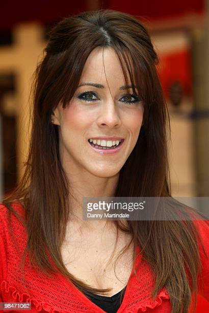 Nicola Tappenden attends a photocall to open the new Virgin Media store at Bluewater Shopping Centre on April 15 2010 in Greenhithe England