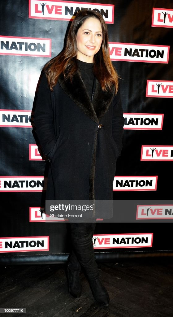 Nicola Thorp attends Chris Rock's celebrity gala on the opening night of his UK tour at Manchester Arena on January 11, 2018 in Manchester, England.