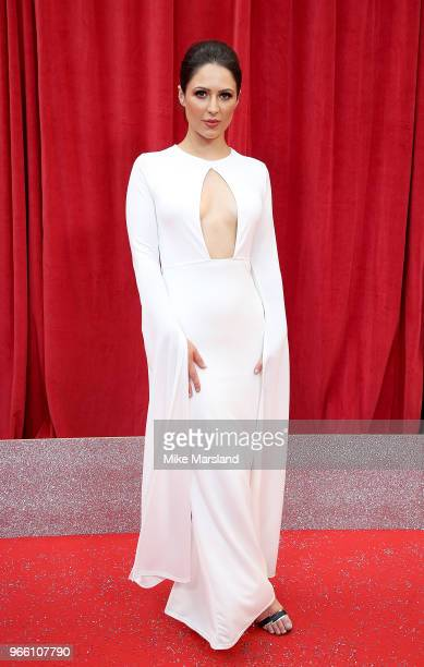 Nicola Thorp attends the British Soap Awards 2018 at Hackney Empire on June 2 2018 in London England