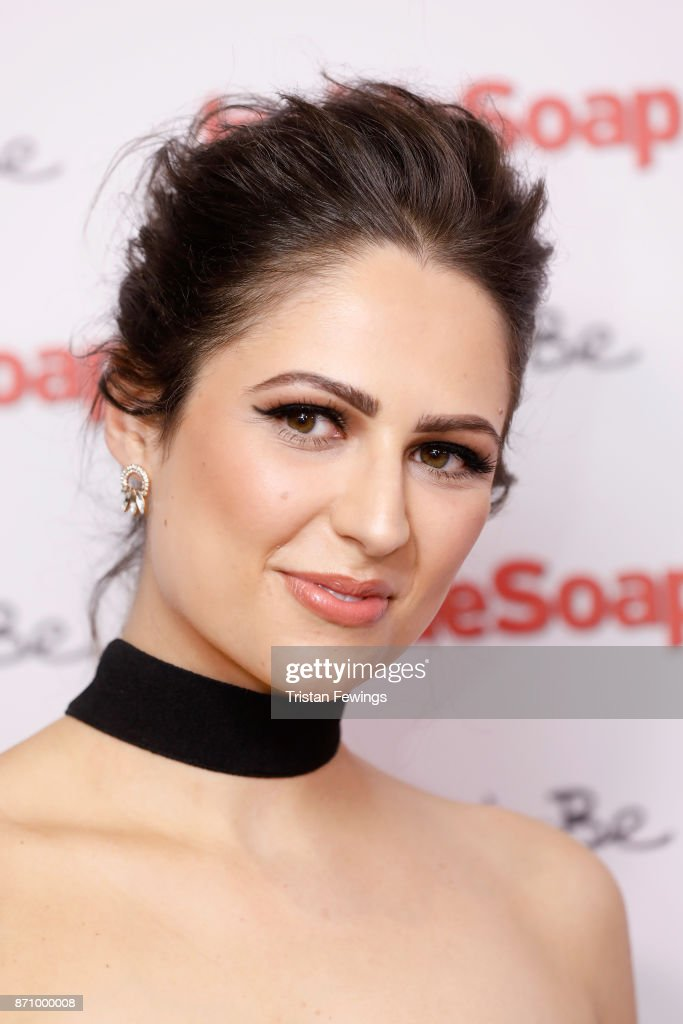 Nicola Thorp attends the Inside Soap Awards held at The Hippodrome on November 6, 2017 in London, England.