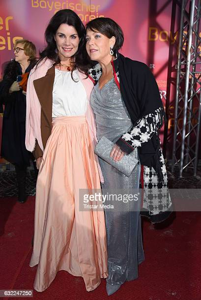Nicola Tiggeler and Janina Hartwig attend the Bayerischer Filmpreis 2017 at Prinzregententheater on January 20 2017 in Munich Germany