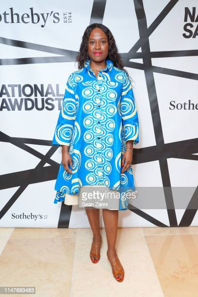 Nicola Vassell attends the National Sawdust 2019 Spring Gala at Sotheby's on May 07 2019 in New York City