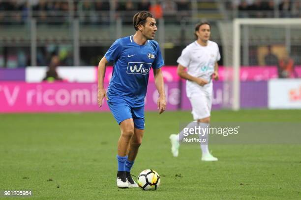 Nicola Ventola during quotLa partita del Maestroquot the farewell match by Andrea Pirlo at Giuseppe Meazza stadium on May 21 2018 in Milan Italy