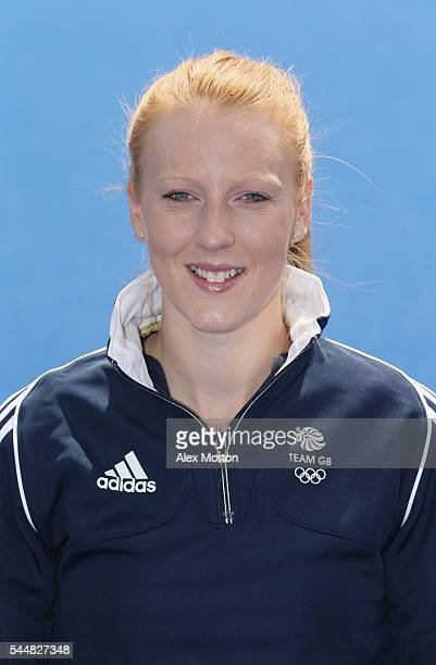 Nicola White of Team GB during the Announcement of Hockey Athletes Named in Team GB for the Rio 2016 Olympic Games at the Bisham Abbey National...