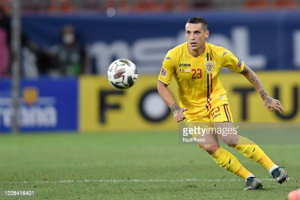 Nicolae Stanciu of Romania during UEFA Nations League 2021 match between Romania and Northern Ireland at Arena Nationala, in Bucharest, Romania, on 4...