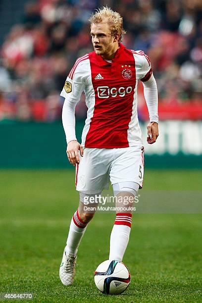 Nicolai Boilesen of Ajax in action during the Dutch Eredivisie match between Ajax Amsterdam and SC Excelsior Rotterdam held at Amsterdam Arena on...