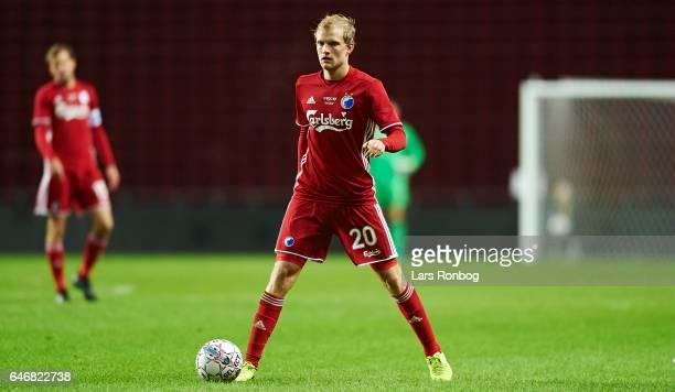 Nicolai Boilesen of FC Copenhagen controls the ball during the Danish Cup DBU Pokalen match match between B93 and FC Copenhagen at Telia Parken...