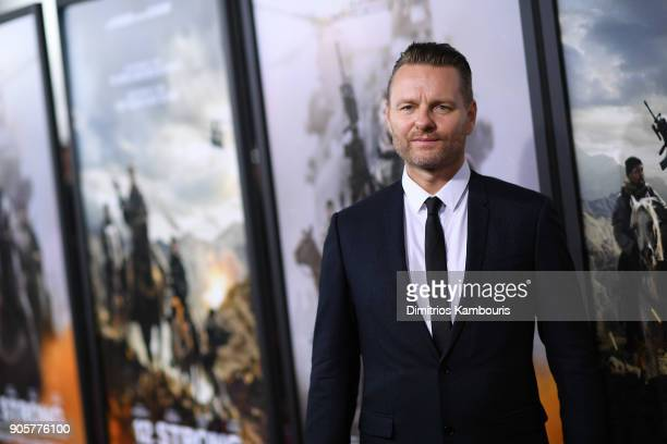 Nicolai Fuglsig attends the world premiere of '12 Strong' at Jazz at Lincoln Center on January 16 2018 in New York City