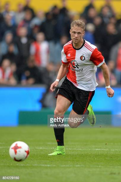 ROTTERDAM NETHERLANDS JULY Nicolai Jorgensen from Feyenoord during the friendly match between Feyenoord and Real Sociedad at De Kuip or Stadion...