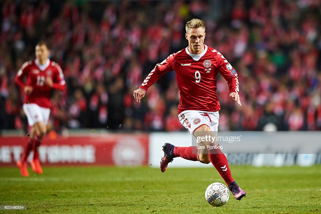 Denmark vs Kazakhstan - FIFA 2018 World Cup Qualifier : News Photo