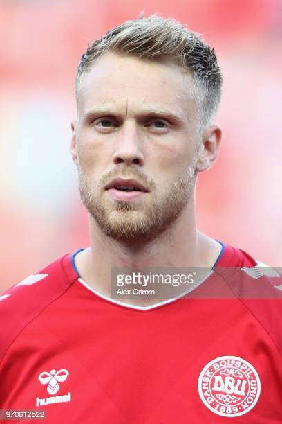 Nicolai Jorgensen of Denmark during the international friendly match between Denmark and Mexico ahead of the FIFA World Cup Russia 2018 at Brondby...