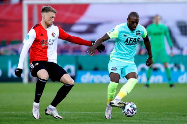 NLD: Feyenoord v AZ Alkmaar - Dutch Eredivisie