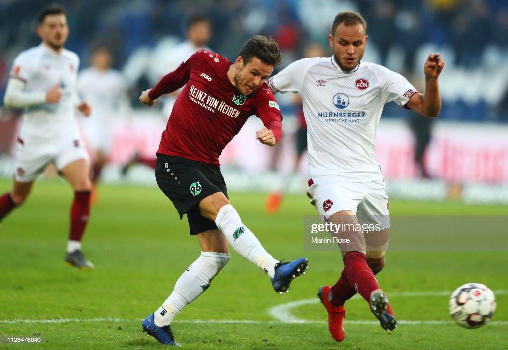 Hannover 96 v 1. FC Nuernberg - Bundesliga : ニュース写真