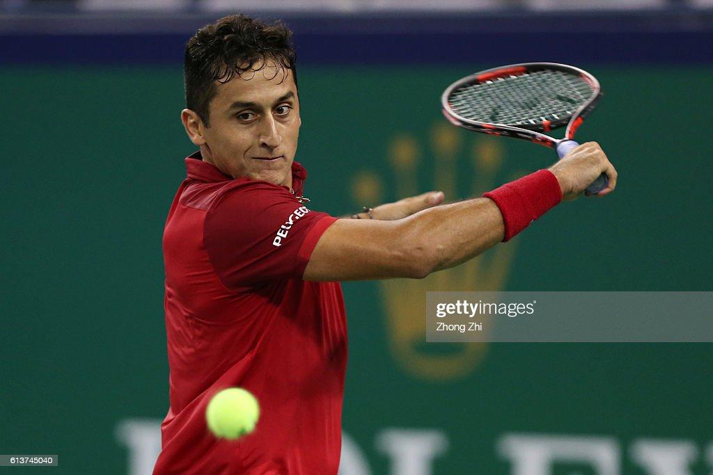 ATP Shanghai Rolex Masters 2016 - Day 2 : News Photo