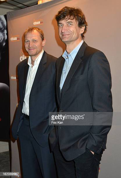 Nicolas Altmayer and Eric Altmayer attend the Producer's Dinner Cesar Film Awards 2013 at Georges V on February 18 2013 in Paris France
