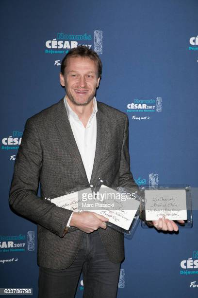 Nicolas Altmayer attends 'Cesars 2017 Nominee luncheon' at Le Fouquet's on February 4 2017 in Paris France