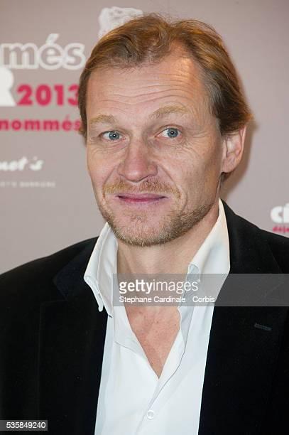 Nicolas Altmayer attends the Cesar 2013 Nominee Lunch at Le Fouquet's in Paris