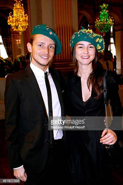 Nicolas and Catherinette from Nina Ricci attend Sainte-Catherine Celebration at Mairie de Paris on November 25, 2013 in Paris, France.