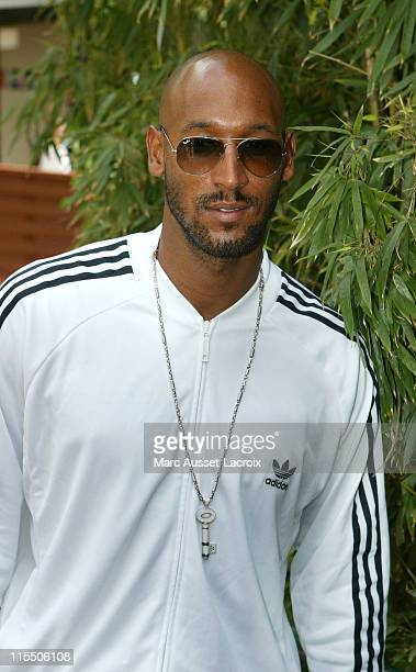 Nicolas Anelka during 2006 French Open - Celebrity Sightings - May 30, 2006 at Roland Garros in Paris, France.