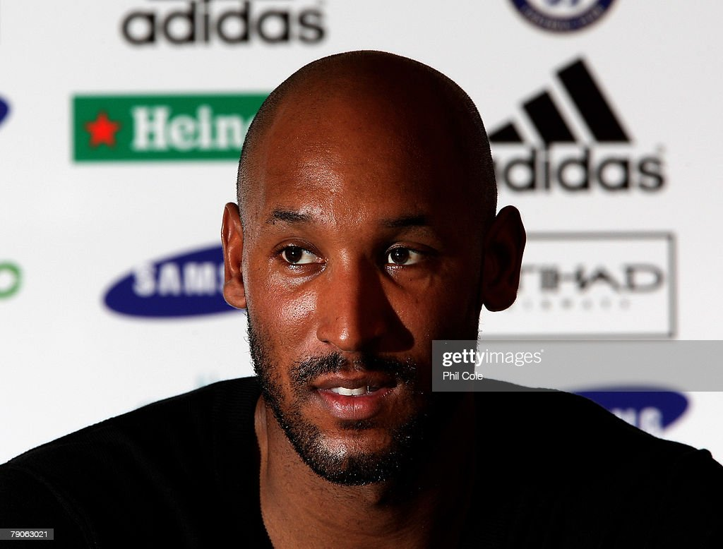 Nicolas Anelka Press Conference : News Photo