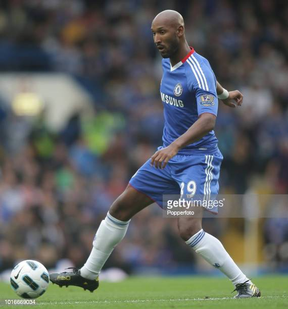 Nicolas Anelka of Chelsea in action during the Barclays Premier League match between Chelsea and West Bromwich Albion at Stamford Bridg in London...