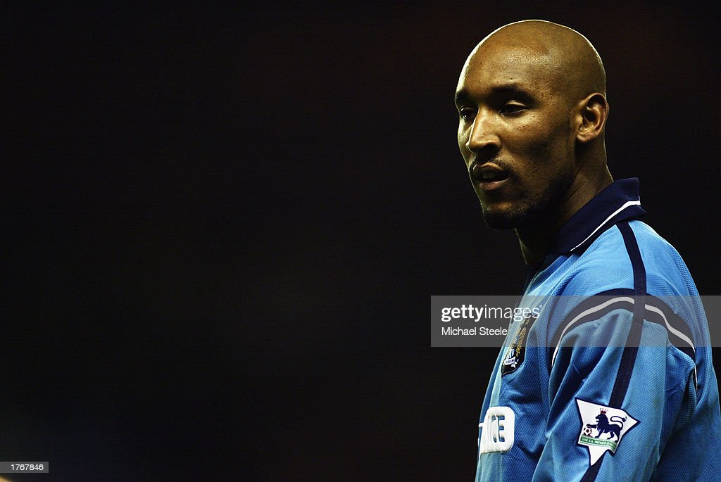 Nicolas Anelka of Manchester City : News Photo