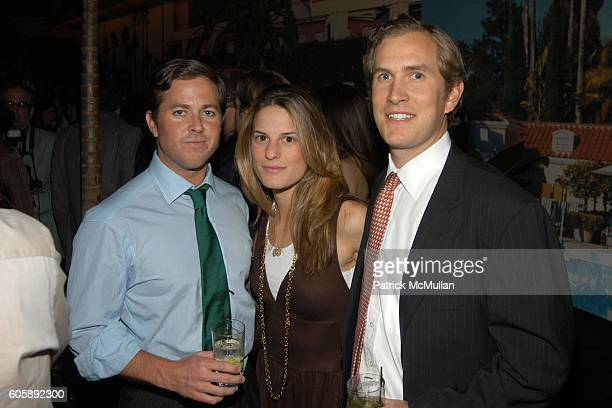 Nicolas Barquin Brooke Jaffe and Peter Scott attend JORDANA BREWSTER's Blame it on Rio Birthday Party hosted by CABANA CACHACA at Bungalow 8 on April...