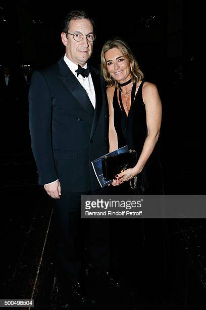Nicolas Bazire and his wife Fabienne attend the gala of AROP and the Representation of 'La Damnation de Faust' at Opera Bastille on December 8 2015...