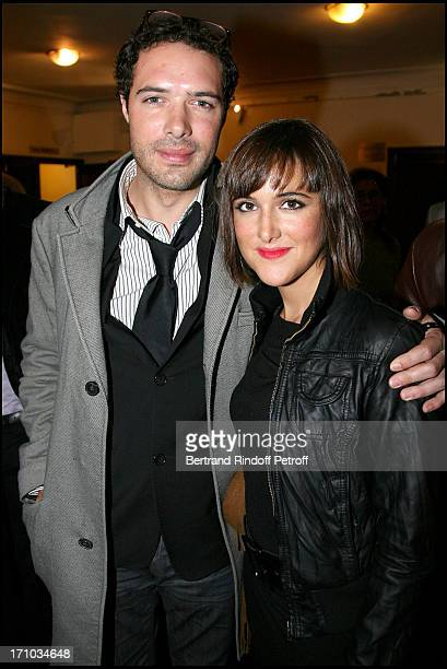 Nicolas Bedos and daughter Victoria Bedos at The Paris Premiere Of The Film Le Concert At Theatre Du Chatelet