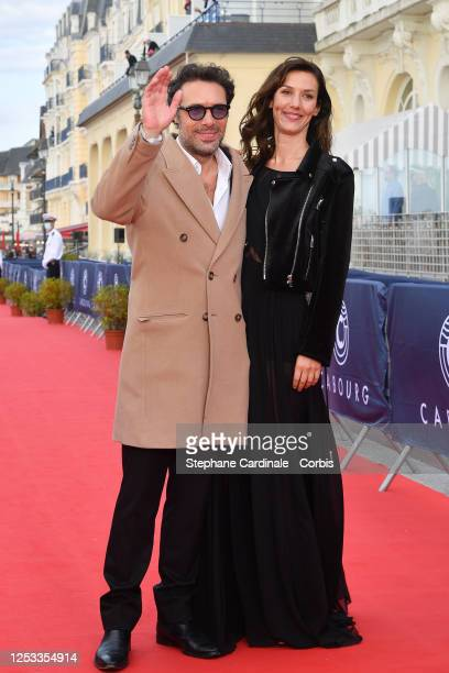 Nicolas Bedos and Doria Tillier attend the Closing Ceremony of the 34th Cabourg Film Festival on June 29 2020 in Cabourg France